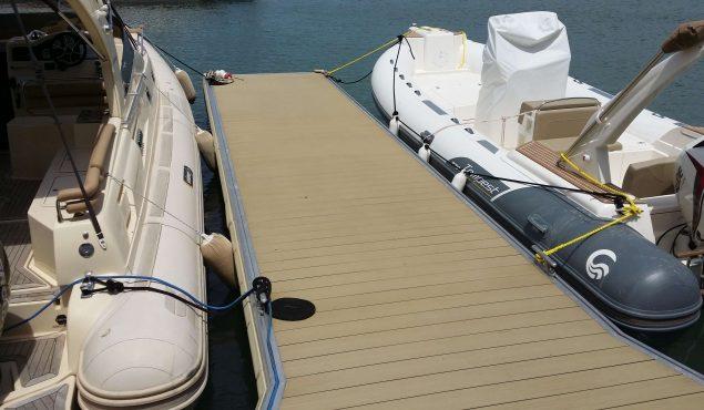marine dock pontoon