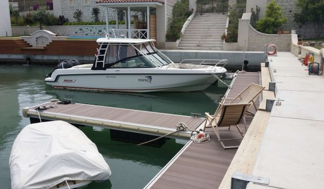 marine dock pontoon finger