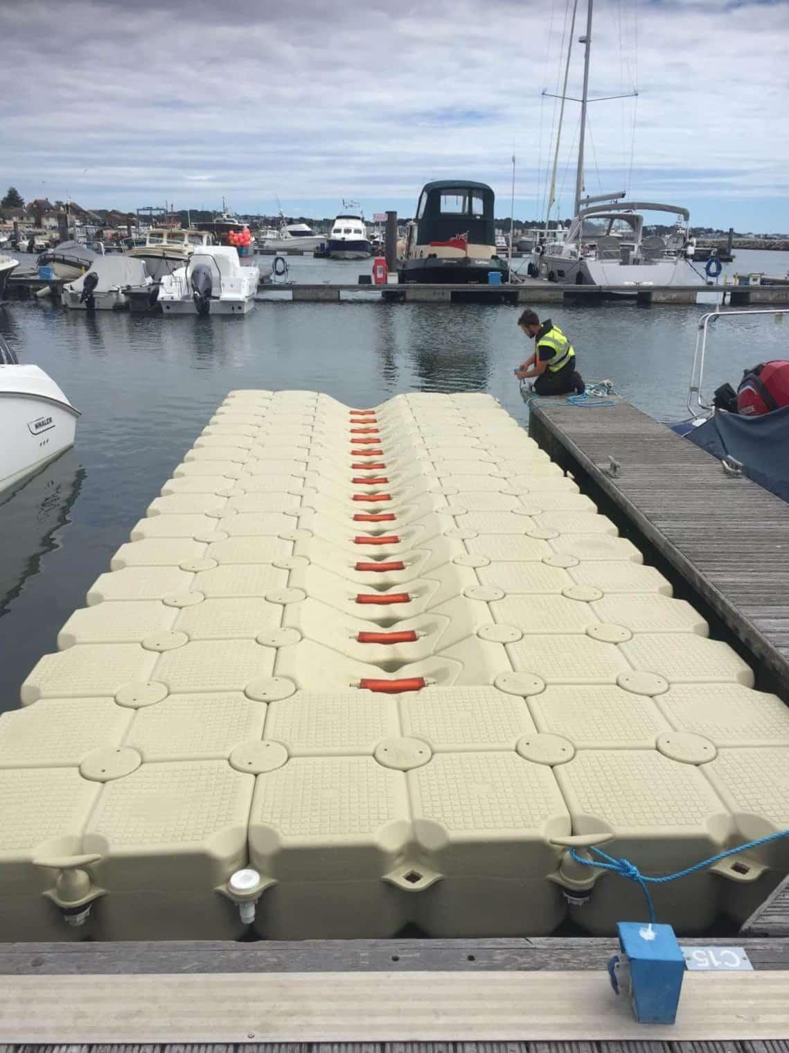 Flexiport drive on dock Poole