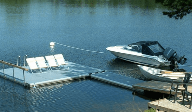 Easyfloat pontoon sunlounger
