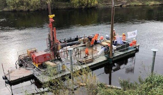 Nato pontoon as floating workstation