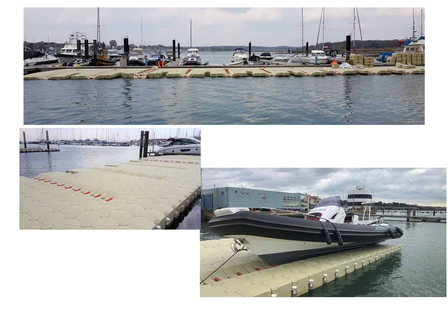 Marine Matters Drive on docks