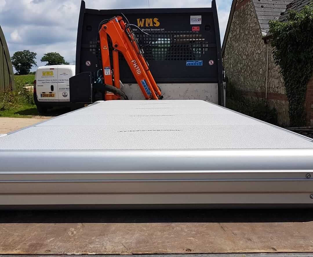 Easyfloat pontoon ready for Gloucestershire delivery